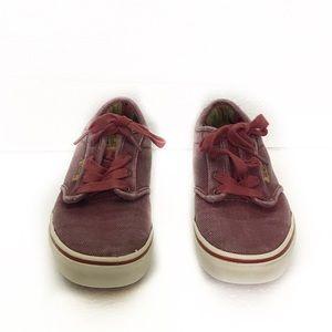 Vans Off The Wall Boys Skateboarding Sneaker Shoes